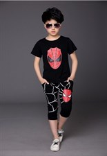 Spider Man Shorts Set