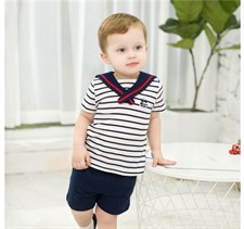 Sailor Collar Stripe