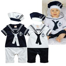 Navy Sailor Jumpsuits