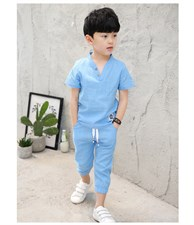 Fashionable Pure Cotton Suit