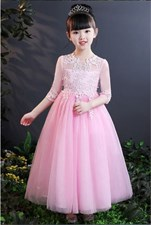 Princess Wedding Party Ball Gown Maxi Style Dress