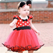 Minnie dots frock