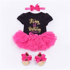 1st Birthday Romper Set