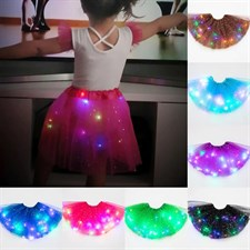 Magic Light Fluffy Ballet Skirt