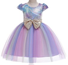 Princess Pastel Rainbow Dress