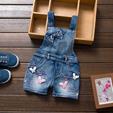 Butterfly denim