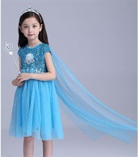 Elsa Frozen Dress Set