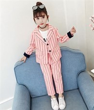 Girls Blazer Suits Set