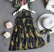 Flower frock with hat