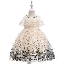 Cape Elegant Dot Dress