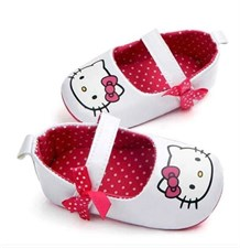 Hello Kitty Anti-slip bow first walkers