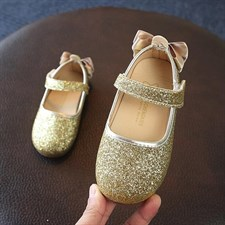 Bowknot Glitter Shoes
