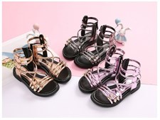 Roman boots High-top girls sandals