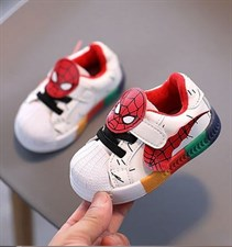 Spiderman Soft Sport Colorful Sneakers Shoes