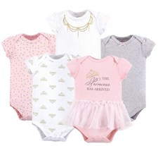 Baby Girl 5 pack Romper Set