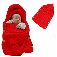 Newborn Baby Cute Knitted Sleepsack
