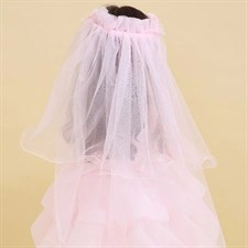 Princess Hairband One Layer Tulle Veils
